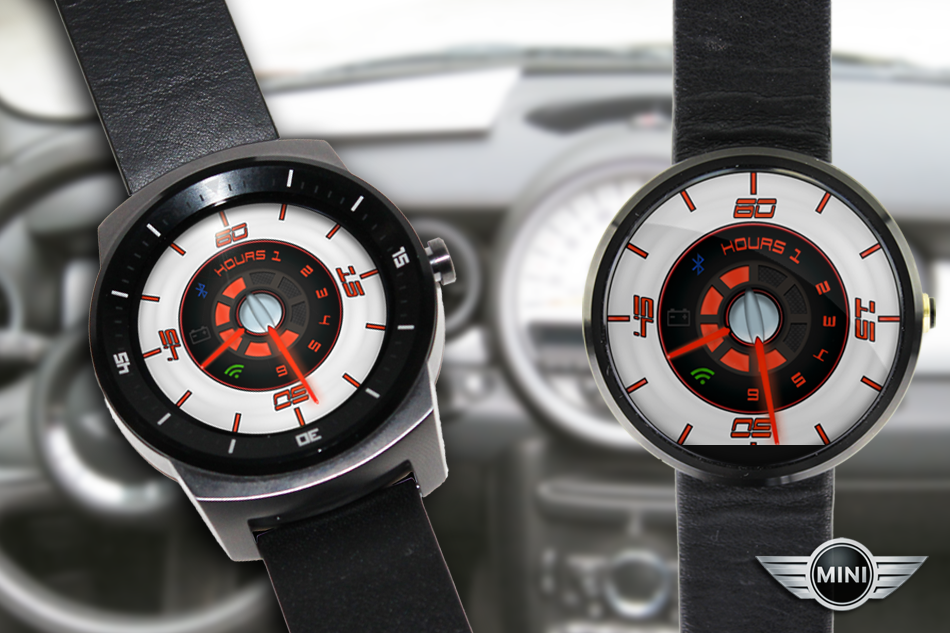 MINI Cooper Android Wear WatchFace
