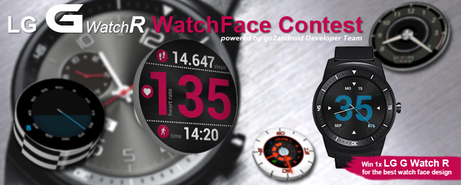 LG G Watch R WatchFace Contest