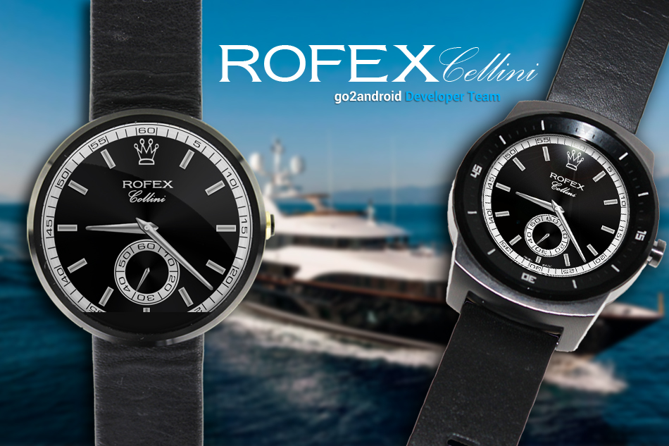 Rolex Cellini Cellinium Android Wear WatchFace